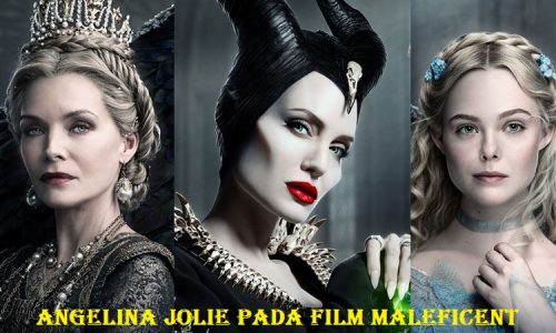 Angelina Jolie Pada Film Maleficent